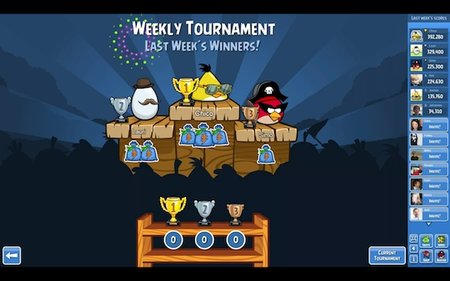 Angry Birds Friends brings a competitive edge via Facebook