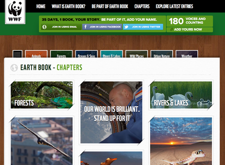 WEBSITE OF THE DAY: Earth Book