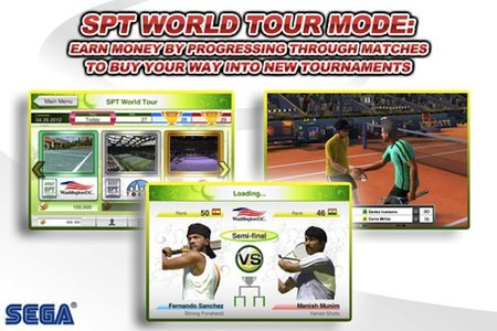 Sega serves up Virtua Tennis Challenge on the iPad and iPhone