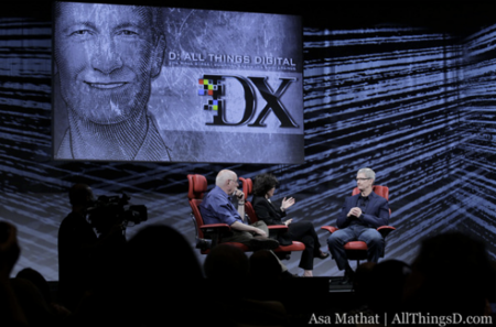 Tim Cook at D10 talks Siri, Apple, TV, following Steve Jobs and more