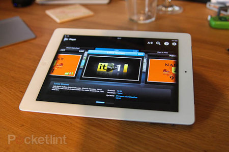 ITV Player for iPad, now with live streaming