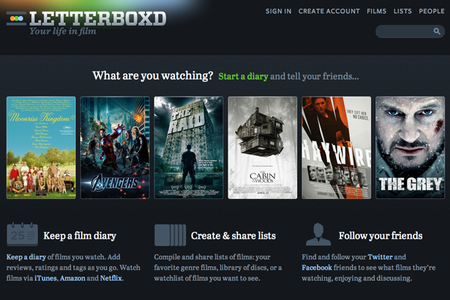 WEBSITE OF THE DAY: Letterboxd