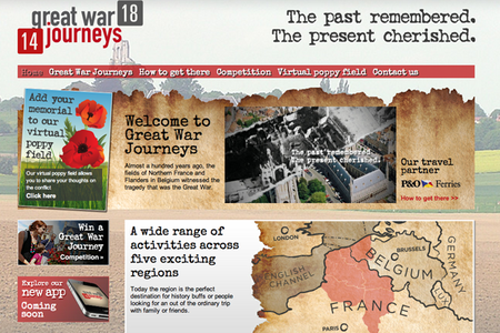 WEBSITE OF THE DAY: Great War Journeys