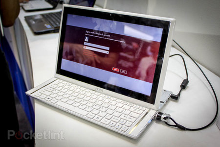 MSI Slider S20 pictures and hands-on