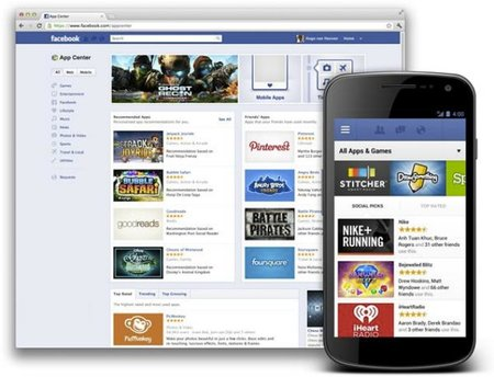 Facebook App Center wants you to discover more Facebook-friendly apps