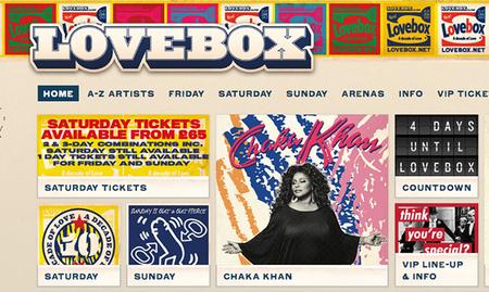 WIN: A pair of tickets to Lovebox this weekend courtesy of Intel