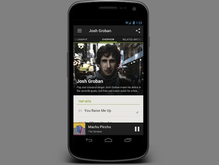 Spotify for Android rivals iPhone version thanks to facelift and added features