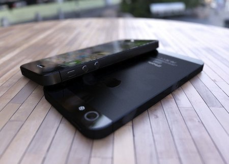 iPhone 5 pictured, shame the photos are only very good renders though
