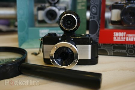 Lomography Fisheye Baby 110 camera pictures and hands-on - photo 1