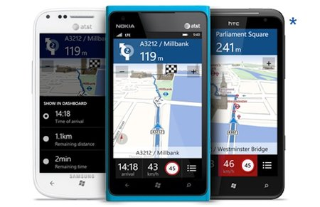 All Windows Phone 8 devices will have Nokia Drive, even Samsung and HTC handsets