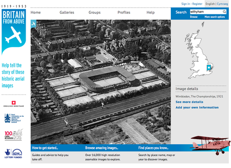 WEBSITE OF THE DAY: Britain from Above