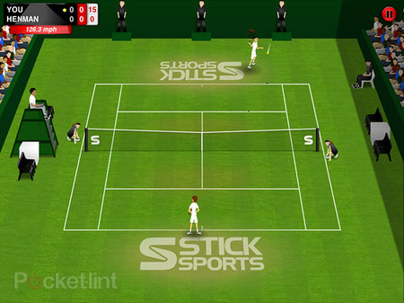 Anyone for (Stick) Tennis? iOS follow up to Stick Cricket arrives in time for Wimbledon