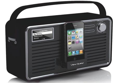 View Quest's Retro Radio gets Wi-Fi, meaning even more choice of stations