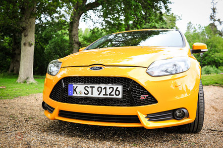 Ford Focus ST 2013 pictures and hands-on