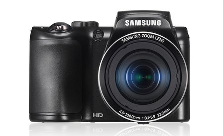 Samsung WB100 bridge camera packs a 16-megapixel image sensor