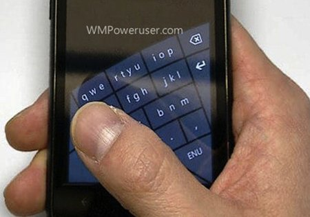 Windows Phone 8 to get arched keyboard, for better one-handed texting