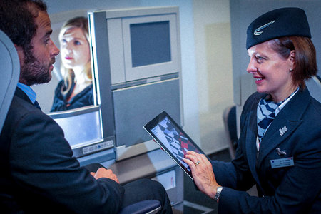 iFlight: The BA business plane that ditches its entertainment system for iPads