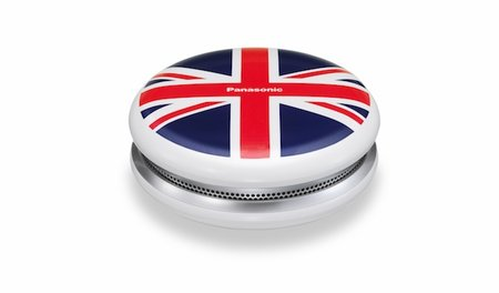 Panasonic SC-MC07 Bluetooth Speaker gets Union Jack paint job