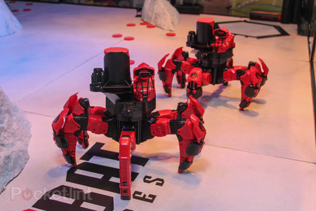 Attacknid six-legged radio-controlled robot has plans to be this year's must-have toy