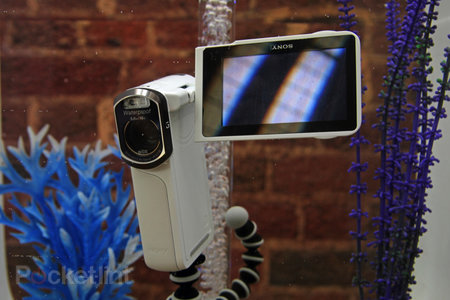 Sony Handycam HDR-GW55VE pictures and hands-on