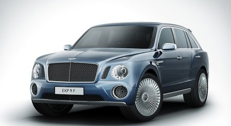 Bentley shows off its concept SUV complete with picnic hamper boot