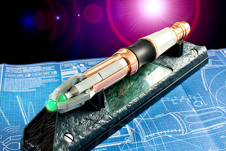 Doctor Who's Sonic Screwdriver soon to be a universal remote control