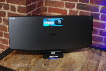 Sony CMT-V75 dock, radio and CD player pictures and hands-on - photo 2