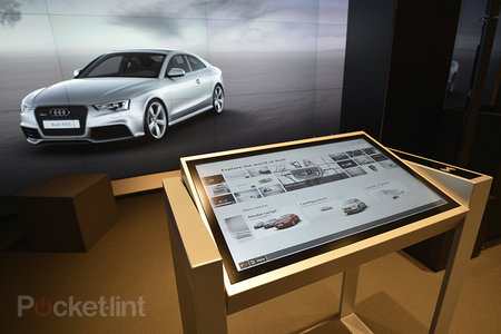 Audi City 'cyberstore': Build your own virtual Audi to drive away