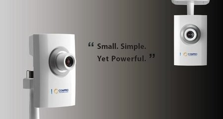 Compro CS80 security camera is the size of a business card