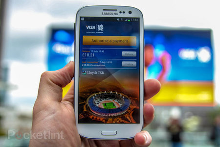 Visa payWave on the Samsung Galaxy S III pictures and hands-on