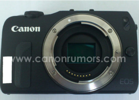 First picture of Canon's mirrorless compact leaked - EOS M name touted - photo 2