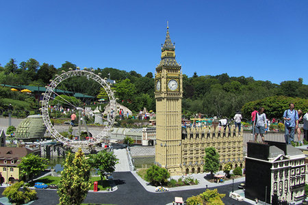World Lego map to be built outside London's Southbank Centre