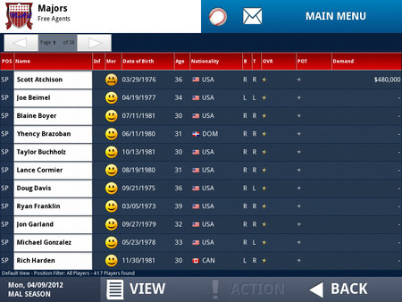 APP OF THE DAY: iOOTP Baseball 2012 Edition review (iPad / iPhone / iPod touch) - photo 16