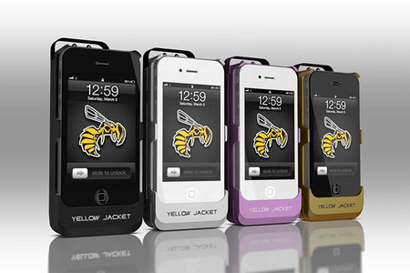 Yellow Jacket iPhone 650K-volt stun gun case to start production