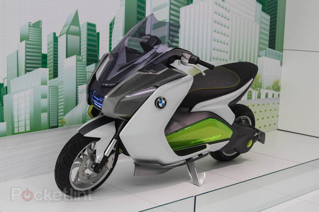 BMW C Evolution pictures and eyes-on