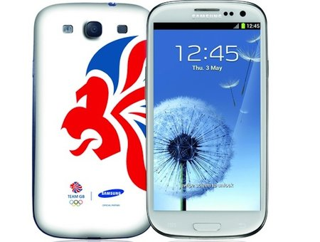 Samsung Galaxy S III London 2012 limited edition handset available now at Carphone Warehouse