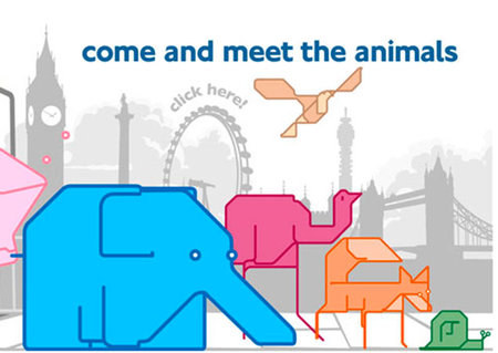WEBSITE OF THE DAY: Animals on the Underground