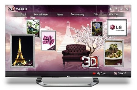 3D Games now available to download to LG Cinema 3D TVs