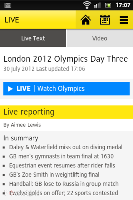 APP OF THE DAY: BBC Olympics review (Android/iPhone) - photo 7