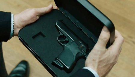 New James Bond Skyfall trailer reveals hand recognition Walther PPK (video)