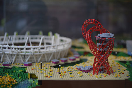 Lego-built London 2012 Olympic Park pictures and eyes-on