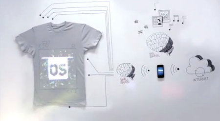 TShirtOS programmable T-shirt shows us the future of wearable tech