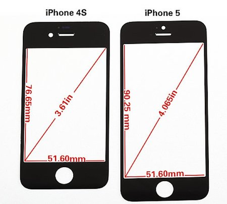 iPhone 5 front panel specifics revealed (video)