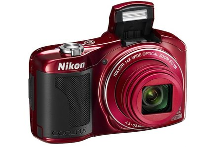 Nikon Coolpix L610 compact camera with 14x zoom turns beginners into pros