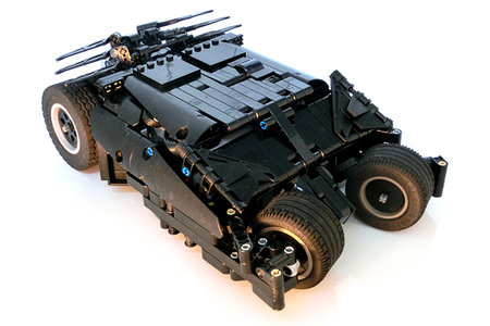 If you think official Lego Batman is cool, think again... now this is a Lego Batmobile!