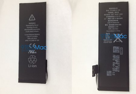 iPhone 5 battery spotted, higher capacity to support LTE