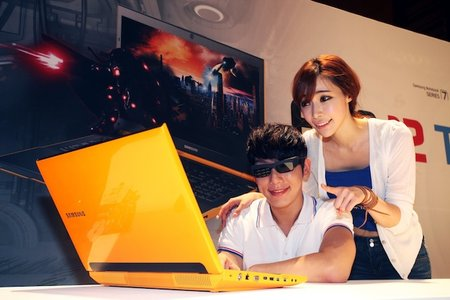 Samsung Series 7 Gamer notebook gets refresh and yellow paintjob - photo 1