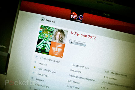 Virgin Media continues Spotify partnersip with in-browser app, including V Festival playlist