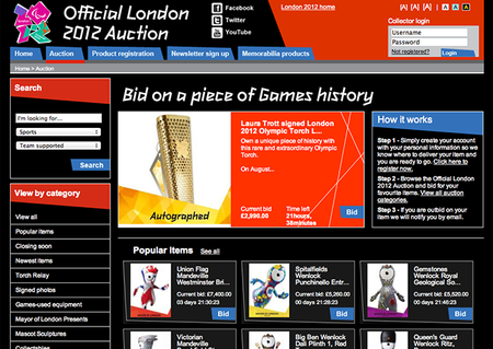 WEBSITE OF THE DAY: 2012 Memorabilia