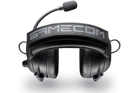 Plantronics limited edition GameCom Commander headset is geared for the competitive gamer